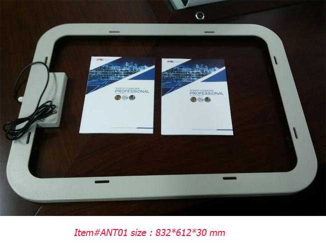 Durable Frame High Frequency RFID Antenna , ABS Housing Long Range RFID Antenna