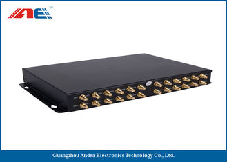 Cina Pembaca RFID High Power RS232, Reader RFID Ethernet Dengan 24 Channels One GPIO pemasok