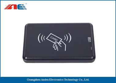 Cina Black USB Interface IOT RFID Reader And Writer Anti Collision Algorithm pemasok