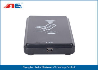 Cina OEM ODM Square USB RFID Reader Writer For Access Control ISO 15693 Protocol pemasok