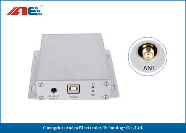 Cina Aluminum Alloy IOT RFID Reader HF Type Host And Scan Work Mode Support EMI Detection pemasok