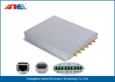 Cina Six Channels Fixed RFID Reader Support Multiple Antenna Ports 50pcs Per Second pemasok