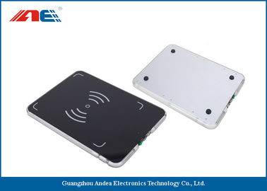 Cina 0.2W RF Power Integrated RFID Pad Reader , Lightweight 13.56 Mhz RFID Reader Writer pemasok