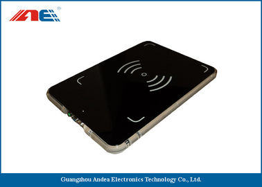 Cina ISO 15693 Integrated Desktop RFID Reader 13.56MHz Reading Range 40CM pemasok