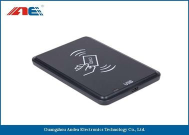 Cina 16CM Reading Range USB Pembaca RFID Reader Desktop / Laptop Didukung RF Power 200mW Distributor