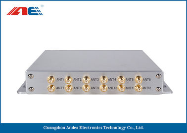 Cina High Power Stationary RFID Reader Long Range , RFID Long Distance Reader Support EMI Detection Distributor