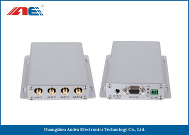 Cina Mid Range Fixed RFID Reader For Industrial RFID Systems ISO 18000 - 3 Protocol Four Channels pabrik