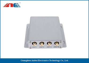 Cina Medium Power Square RFID Reader RS232 , Four Channels RFID Antenna Reader Distributor