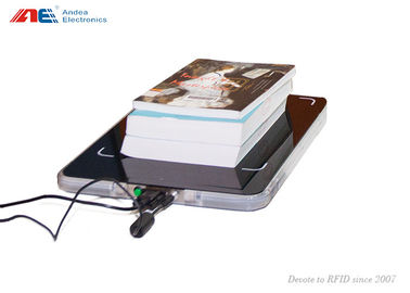 Cina ISO Library RFID Reader Staff Workstation For Books Check In / Out Acrylic Surface pabrik
